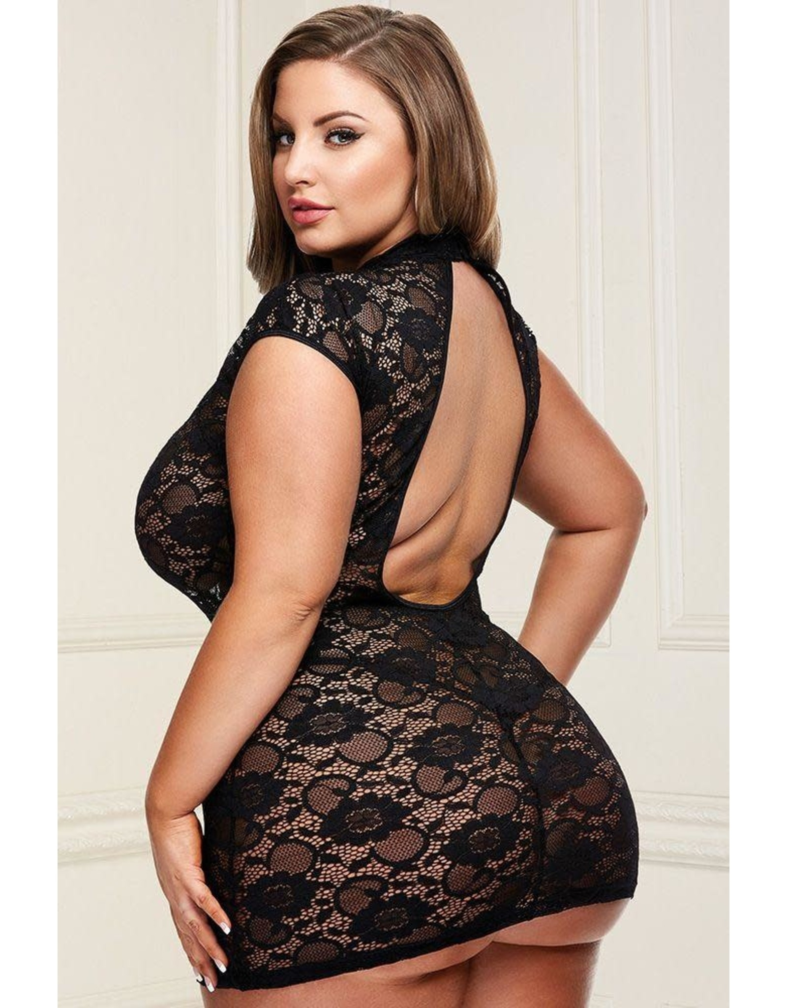 BACI - DRESSED TO THE NINES - BLACK - QUEEN SIZE