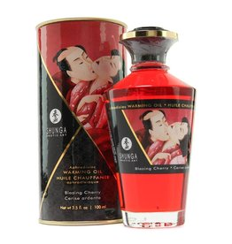 SHUNGA - APHRODISIAC MASSAGE OIL - BLAZING CHERRY 3.5oz