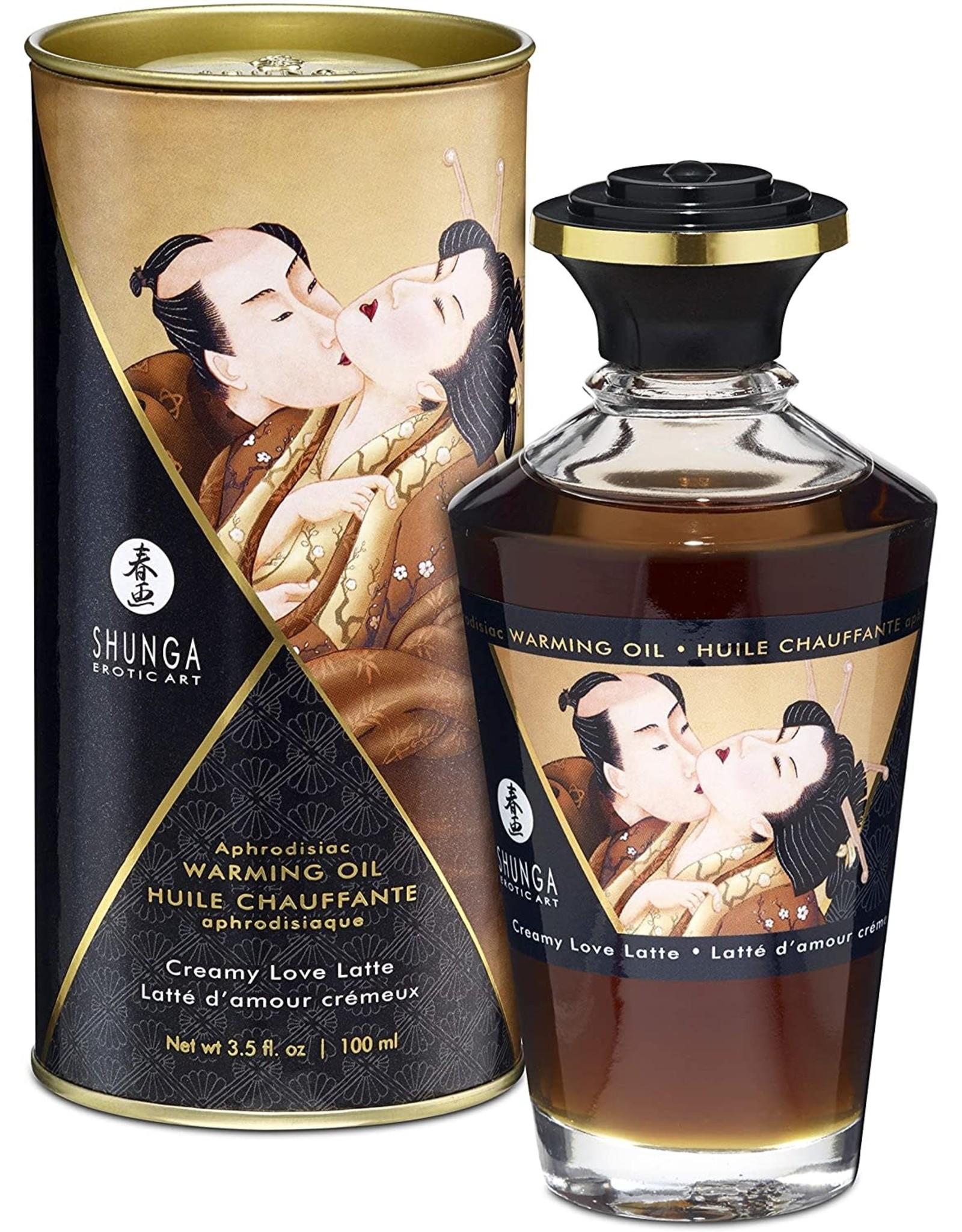 SHUNGA - APHRODISIAC OILS - CREAMY LOVE LATTE 3.5oz