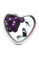 EARTHLY BODY EARTHLY BODIES - 3-IN-1 MASSAGE OIL CANDLE - GRAPE