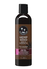 EARTHLY BODIES - HEMP SEED MASSAGE OIL - HIGH TIDE 8oz