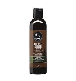 EARTHLY BODIES - HEMP SEED MASSAGE OIL - GUAVALAVA 8oz