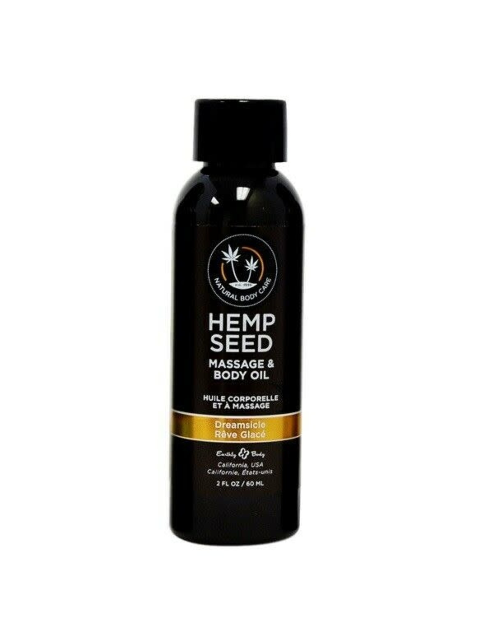 EARTHLY BODY EARTHLY BODIES - HEMP SEED MASSAGE OIL - DREAMSICLE 2oz