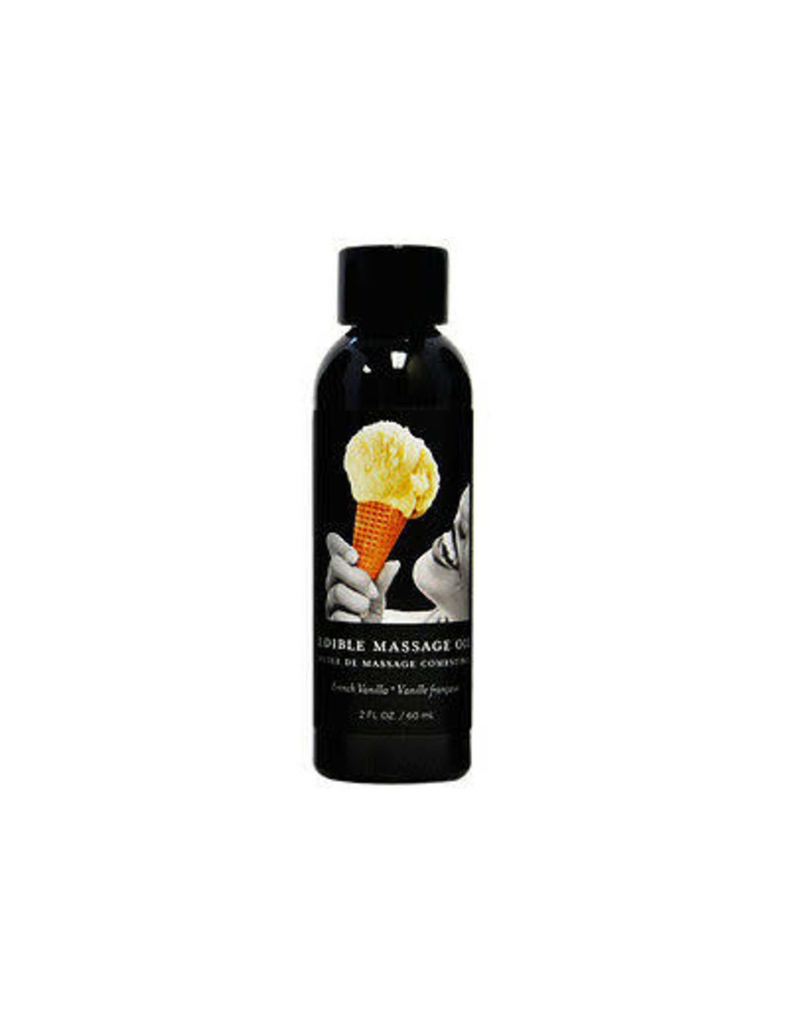 EARTHLY BODIES - EDIBLE MASSAGE OIL - VANILLA 2oz
