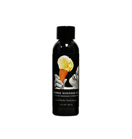 EARTHLY BODY EDIBLE MASSAGE OIL - VANILLA 2oz