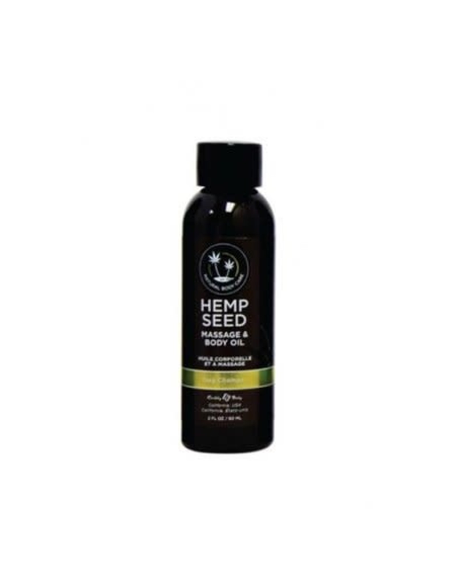 EARTHLY BODIES - HEMP SEED MASSAGE OIL - NAG CHAMPA 2oz