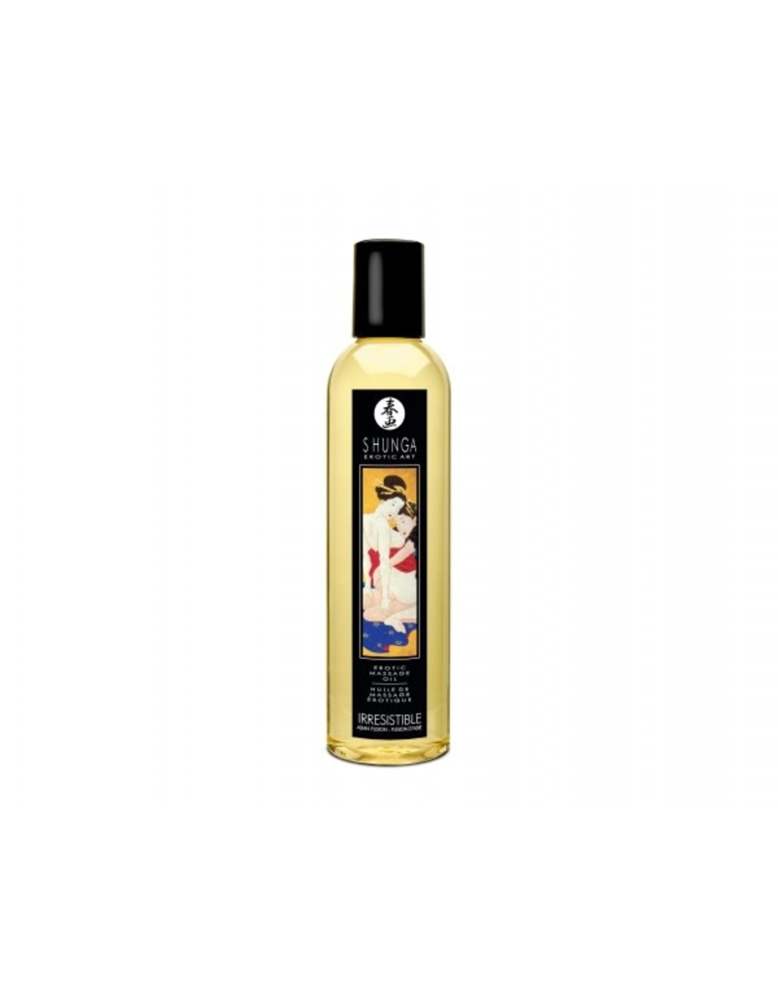 SHUNGA - EROTIC MASSAGE OIL - IRRESISTIBLE (ASIAN FUSION) 8oz