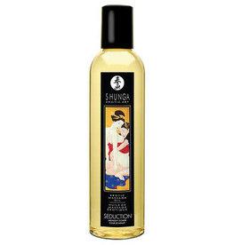 SHUNGA - EROTIC MASSAGE OIL - SEDUCTION (MIDNIGHT FLOWER) 8oz