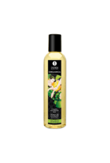 SHUNGA - ORGANICA KISSABLE MASSAGE OIL - EXOTIC GREEN TEA 8oz