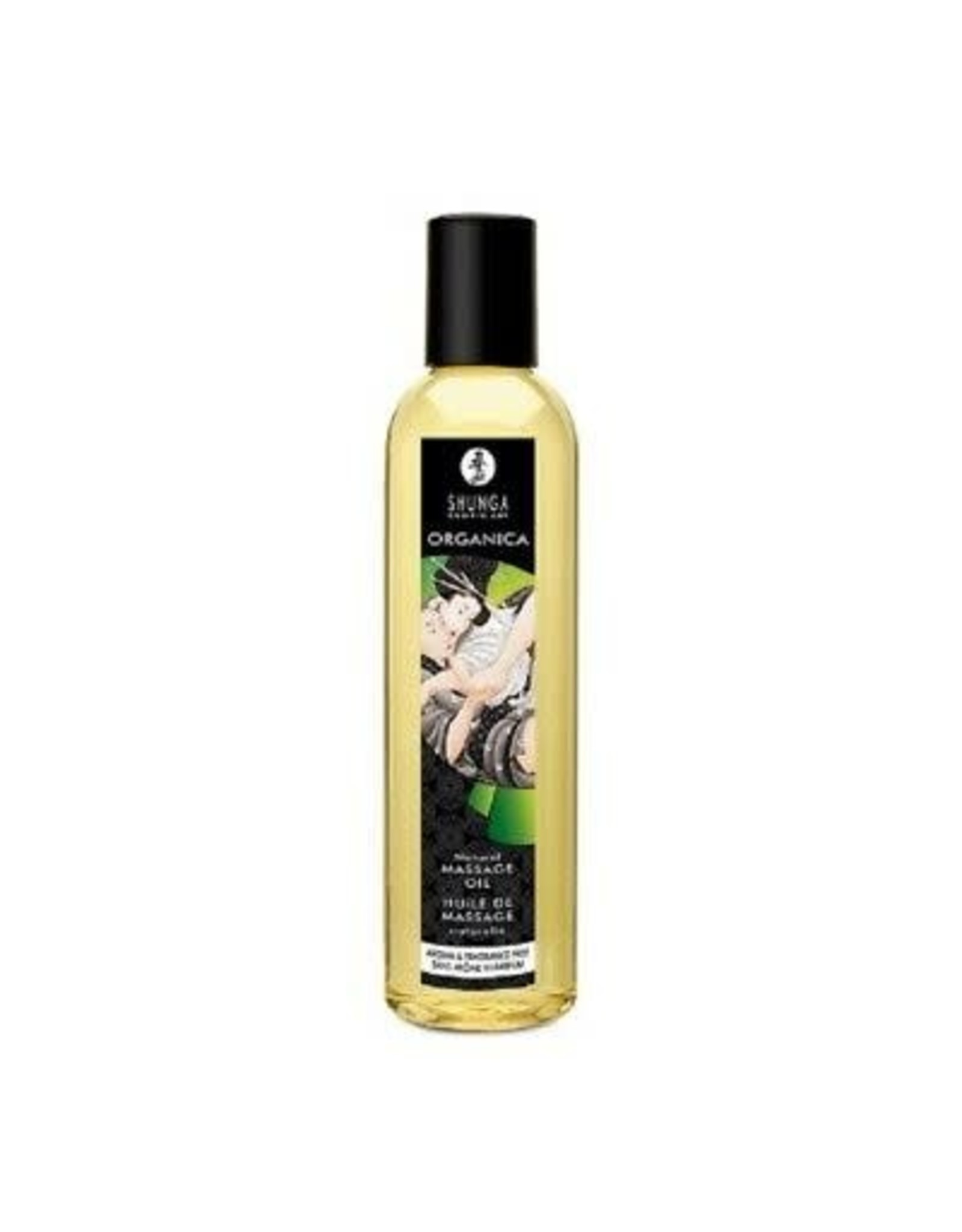 SHUNGA - ORGANICA KISSABLE MASSAGE OIL - FRAGRANCE FREE 8oz
