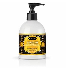 KAMA SUTRA KAMASUTRA - TOUCH - COCONUT AND PINEAPPLE MASSAGE LOTION 10oz