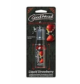 GOOD HEAD - ORAL DELIGHT SPRAY - STRAWBERRY 1oz