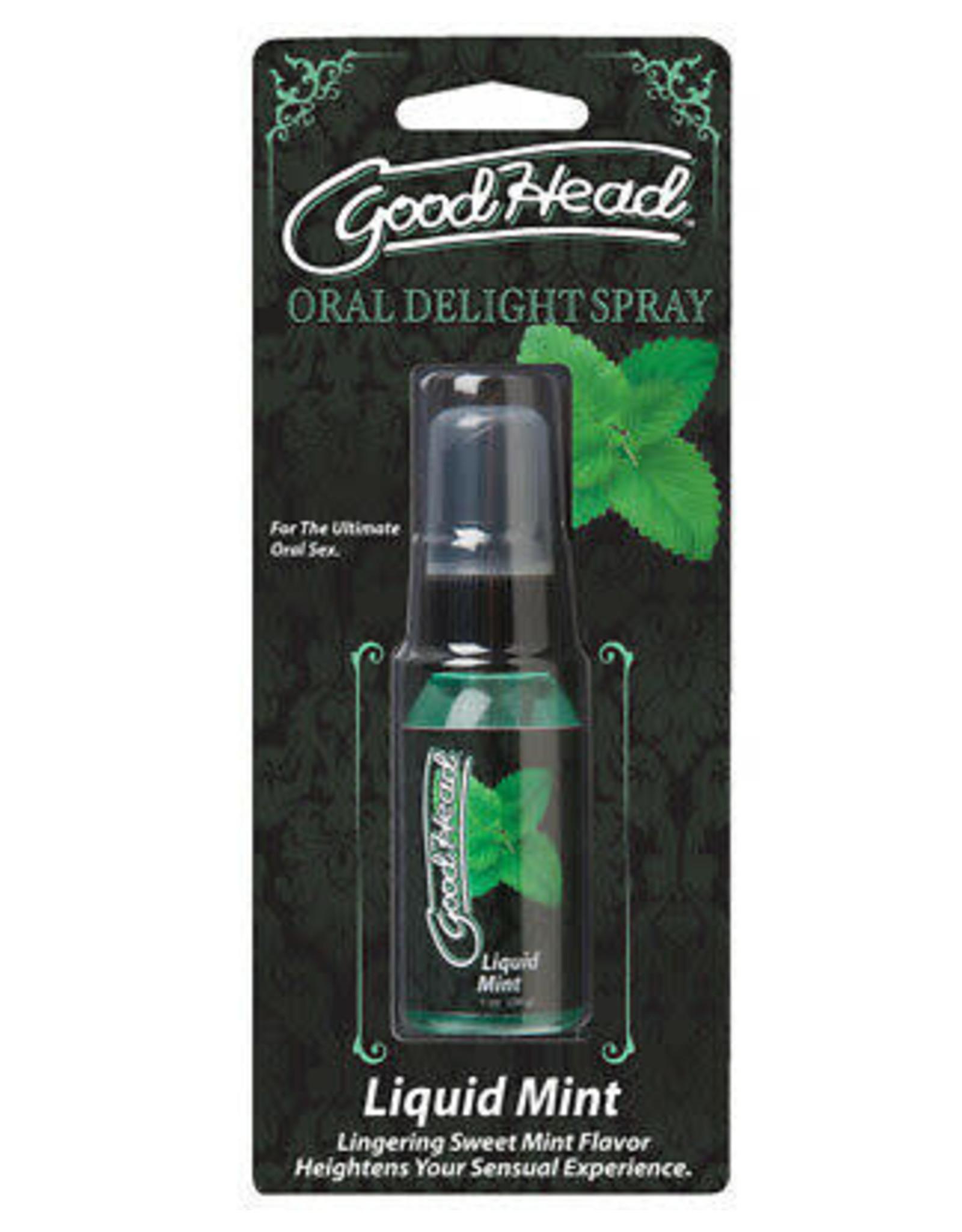 GOOD HEAD - ORAL DELIGHT SPRAY - MINT 1oz