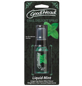 GOOD HEAD - ORAL DELIGHT SPRAY - MINT 1oz