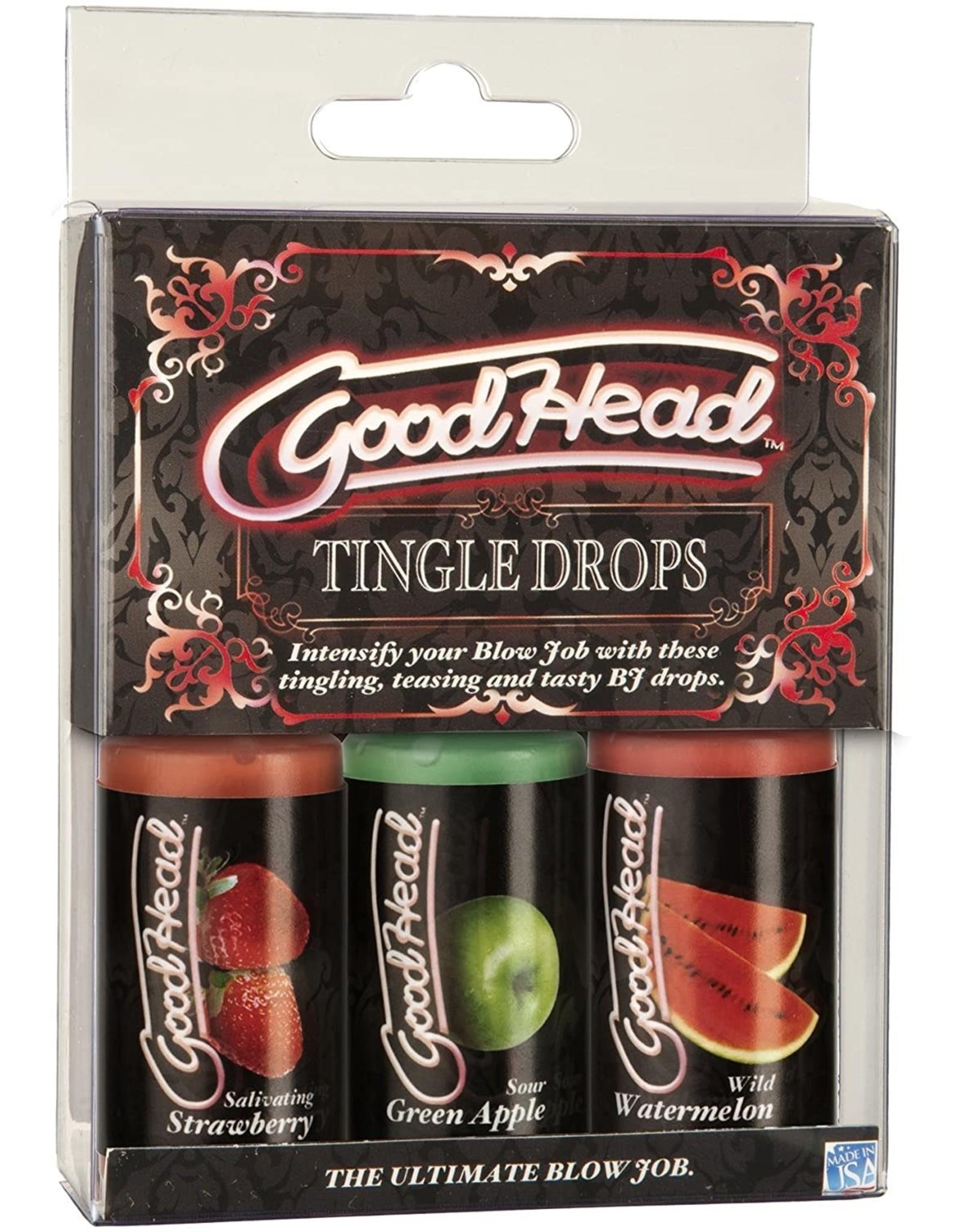 GOOD HEAD - TINGLE DROPS 3 PACK