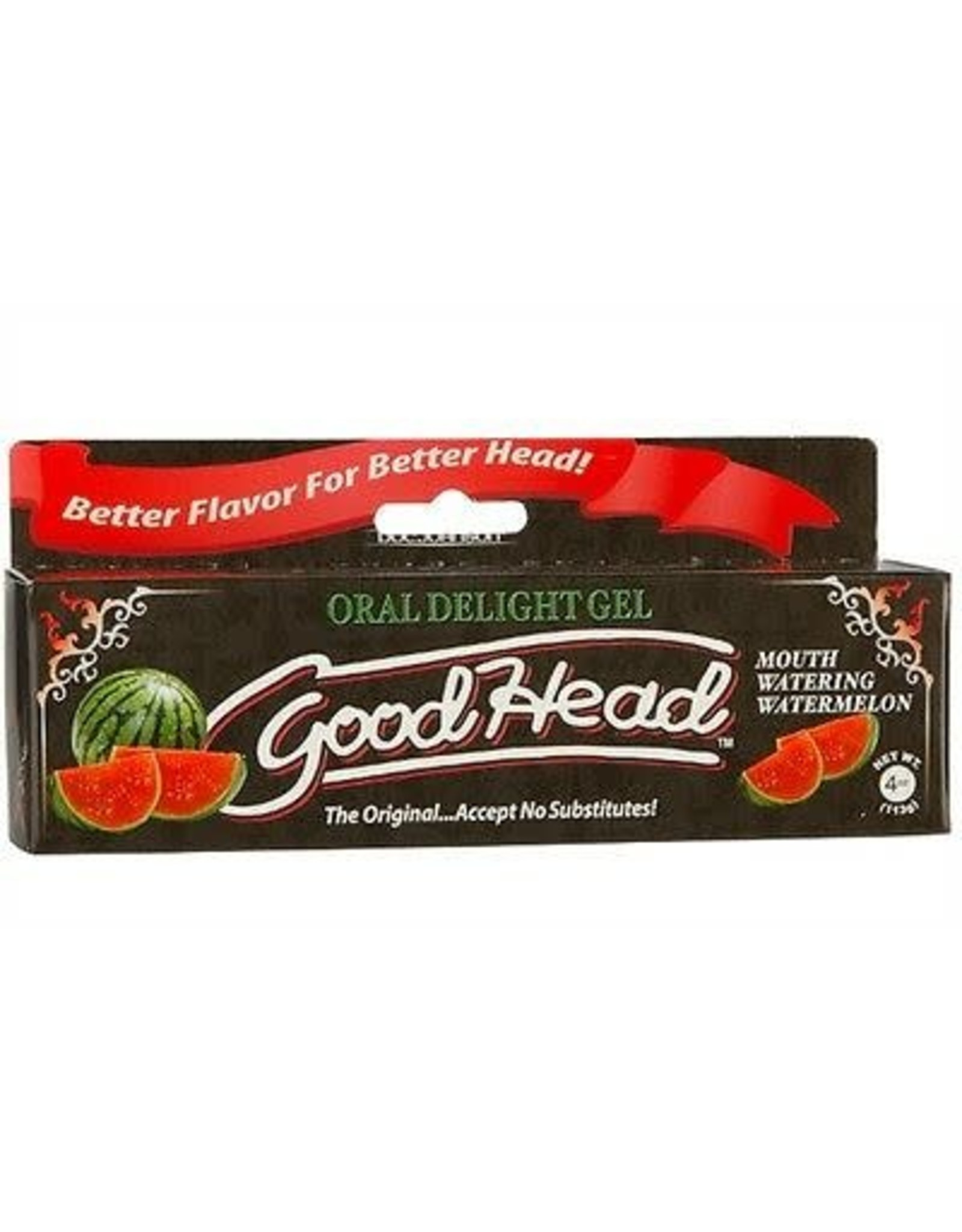 GOOD HEAD - ORAL DELIGHT  GEL - WATERMELON 4oz