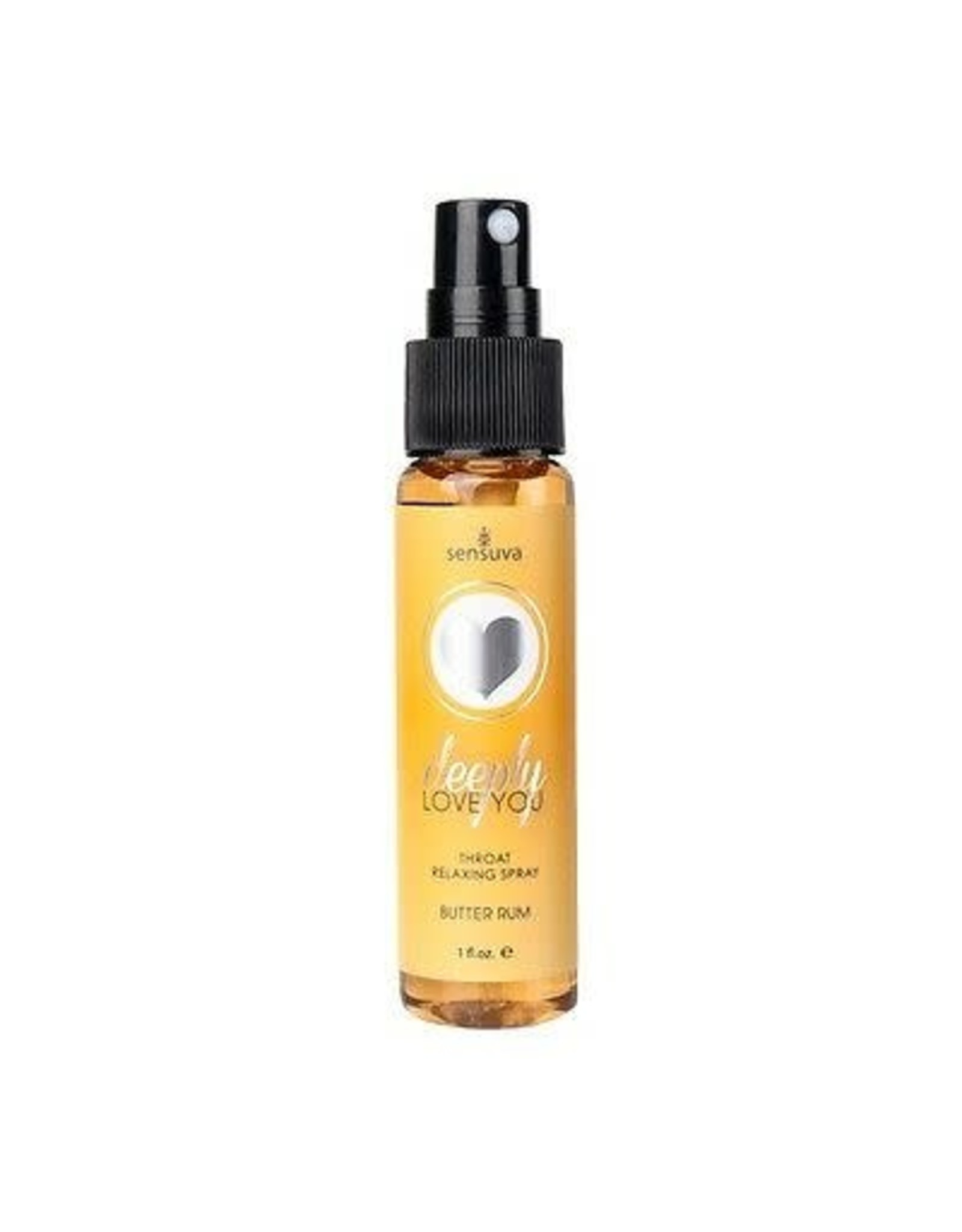 SENSUVA - DEEPTHROAT SPRAY - BUTTER RUM