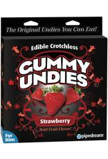 EDIBLE CROTCHLESS GUMMY UNDIES - STRAWBERRY