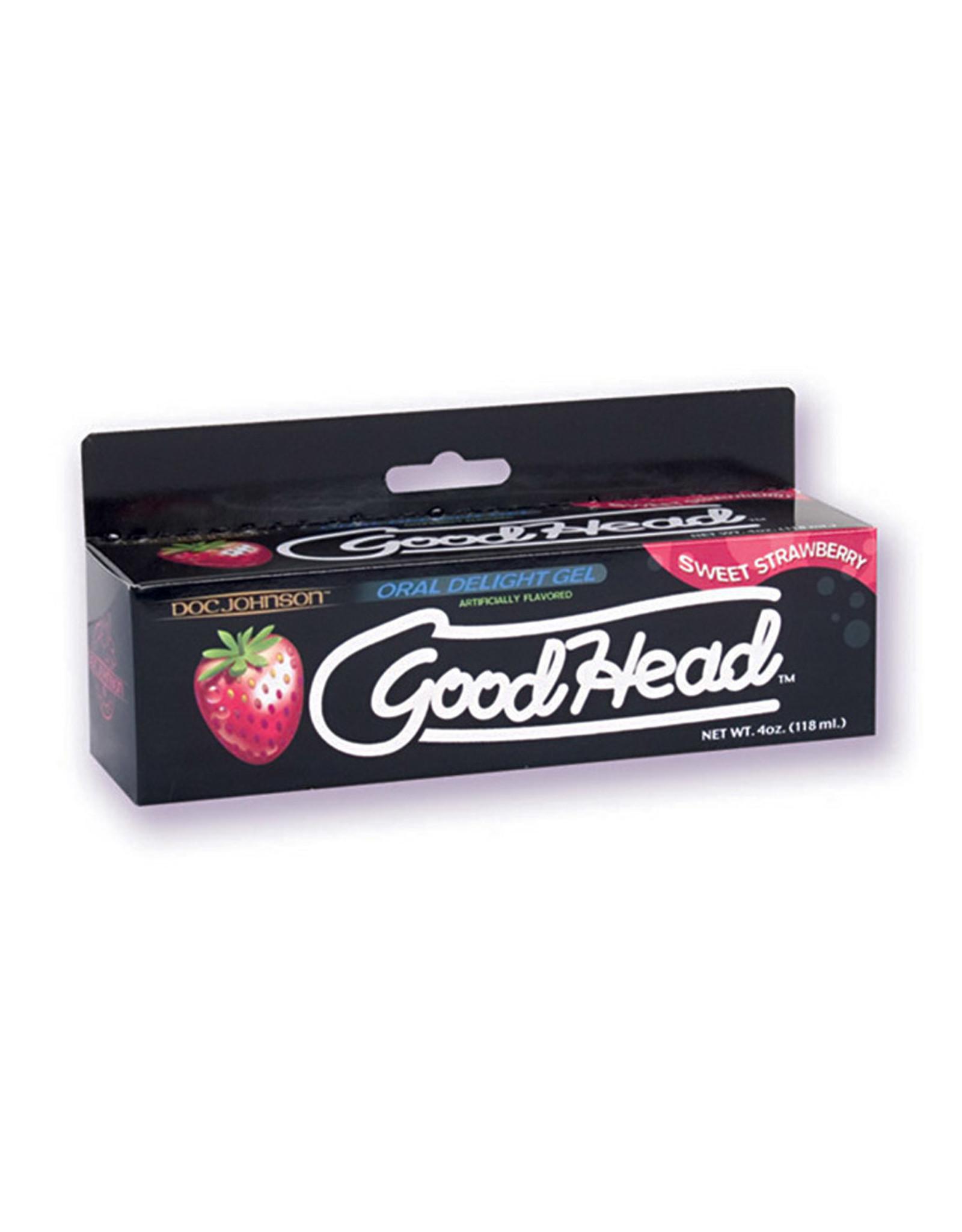 GOOD HEAD - ORAL DELIGHT GEL - SWEET STRAWBERRY 4oz