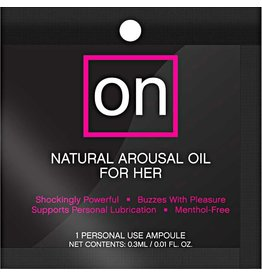 SENSUVA - ON - FOR HER - AMPOULE PACKET