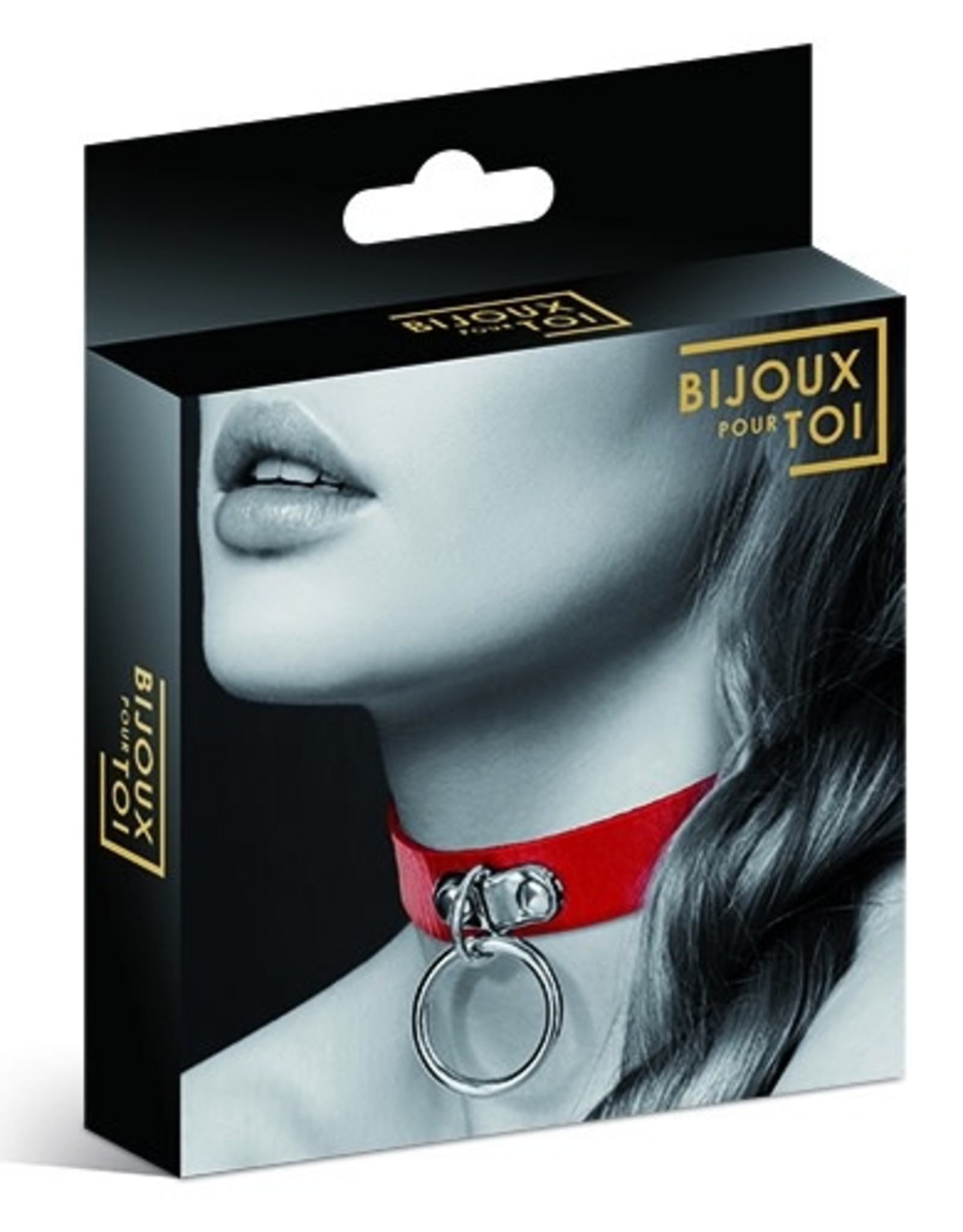 BIJOUX - RING COLLAR - RED