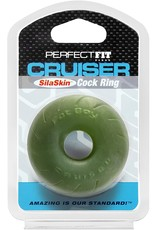 PERFECT FIT CRUISER COCK RING -GREEN