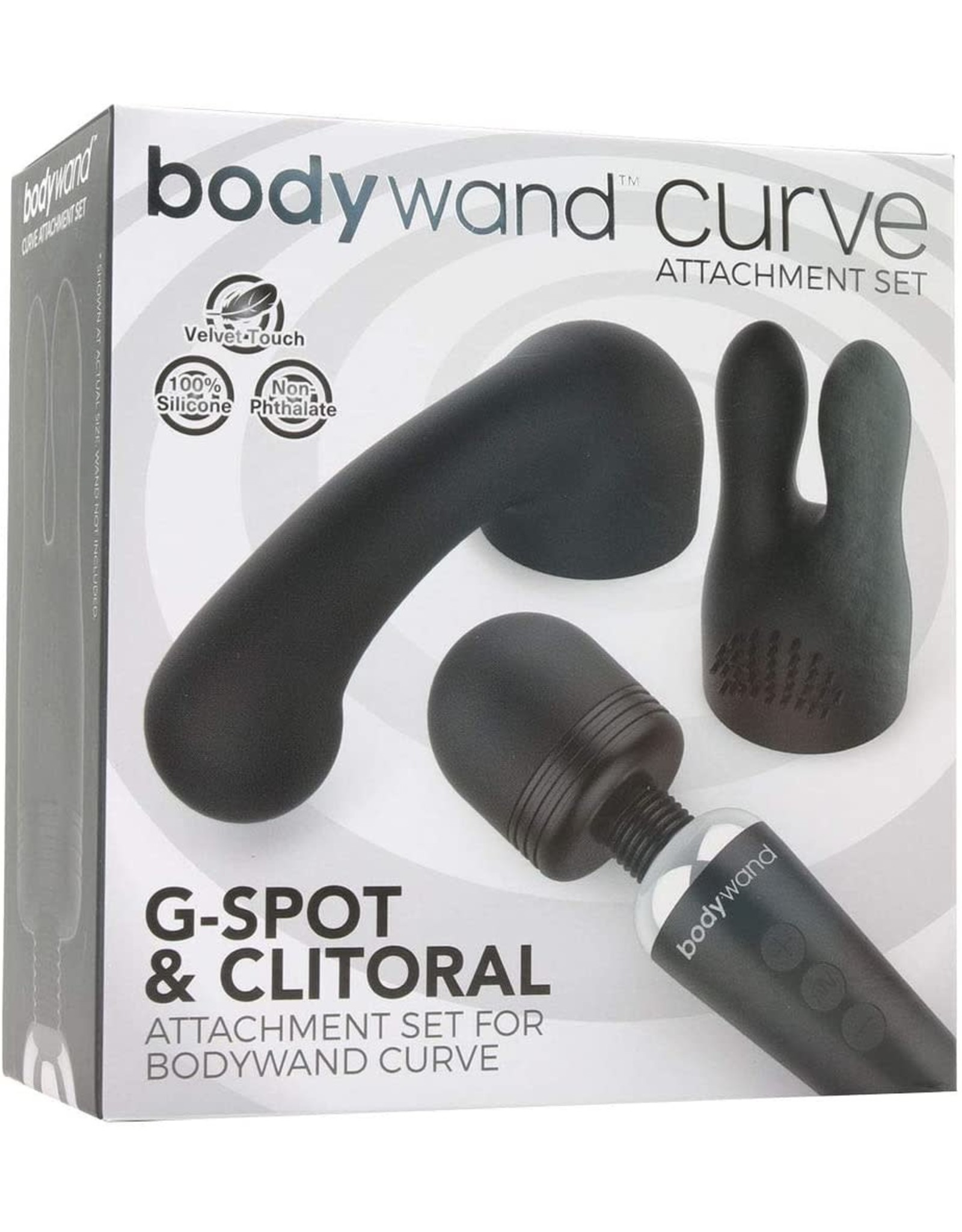 BODYWAND - CURVE ATTACHMENTS 2 PIECE