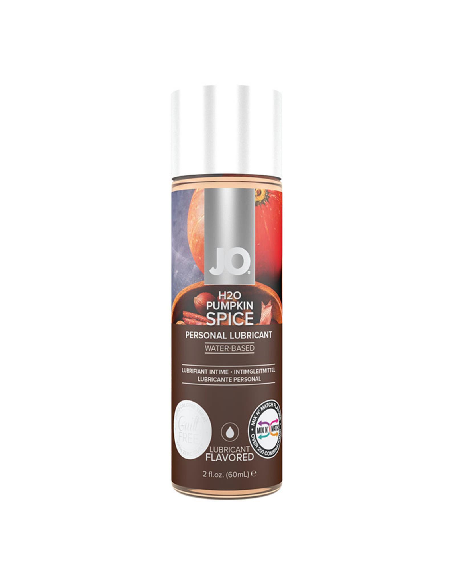 JO - H2O - FLAVOURED LUBRICANT - PUMPKIN SPICE - 2 oz