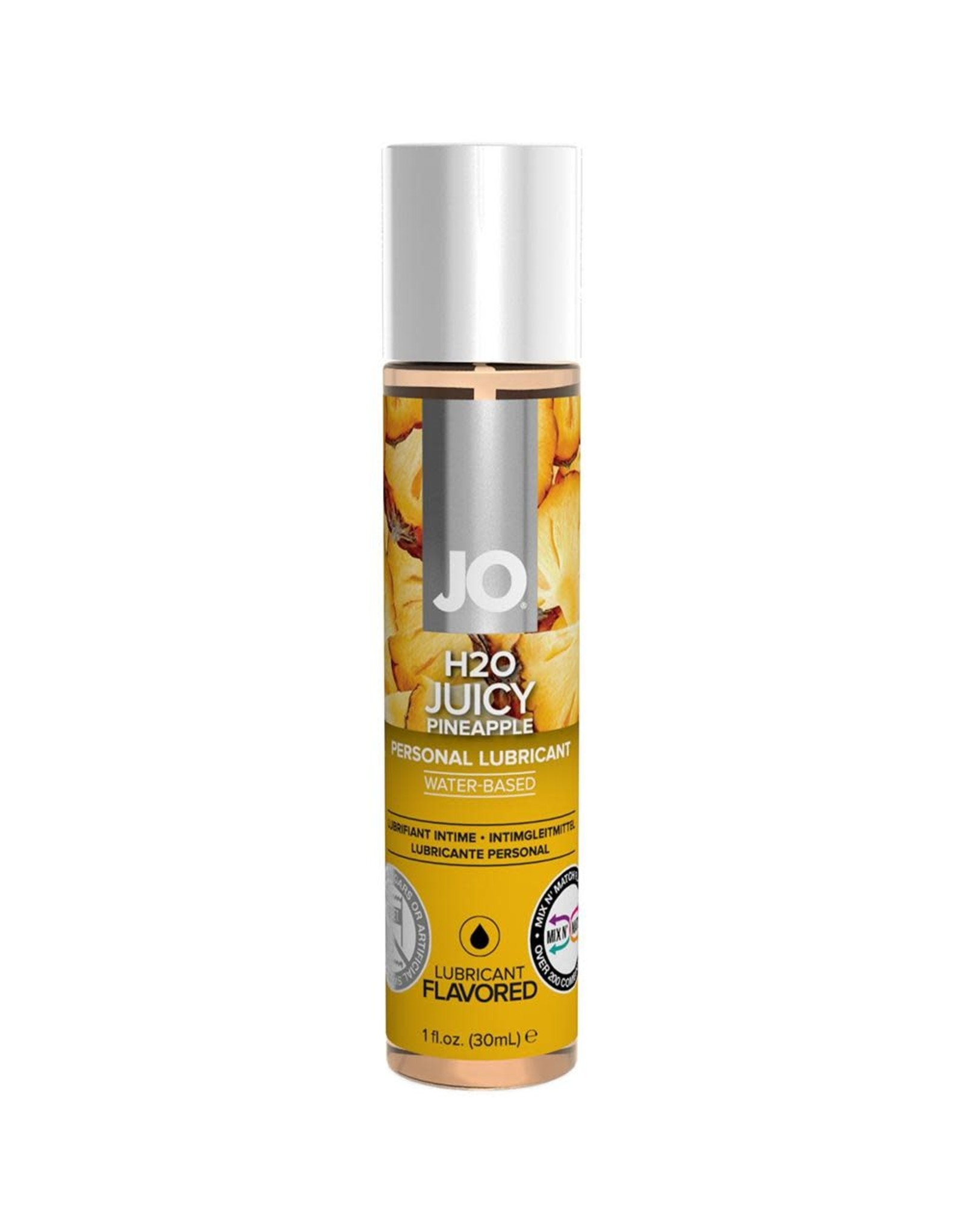 JO - H2O - FLAVOURED LUBRICANT - JUICY PINEAPPLE - 1 oz
