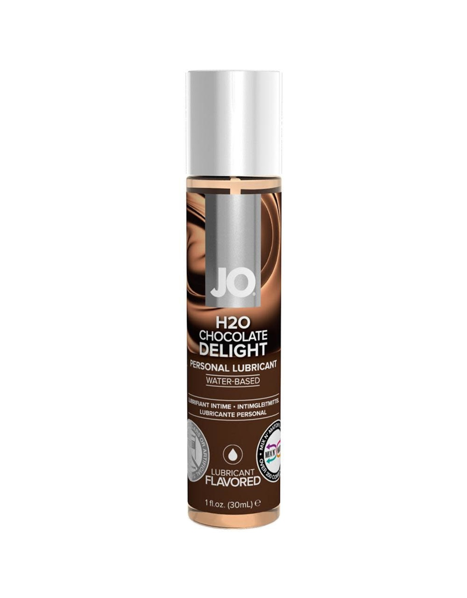 SYSTEM JO JO H2O - FLAVOURED LUBRICANT - CHOCOLATE DELIGHT 1oz