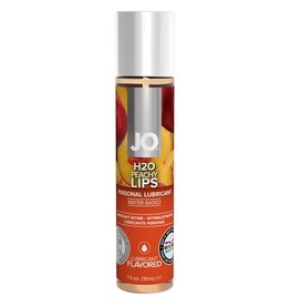 JO - H2O - FLAVOURED LUBRICANT - PEACHY LIPS - 1 oz