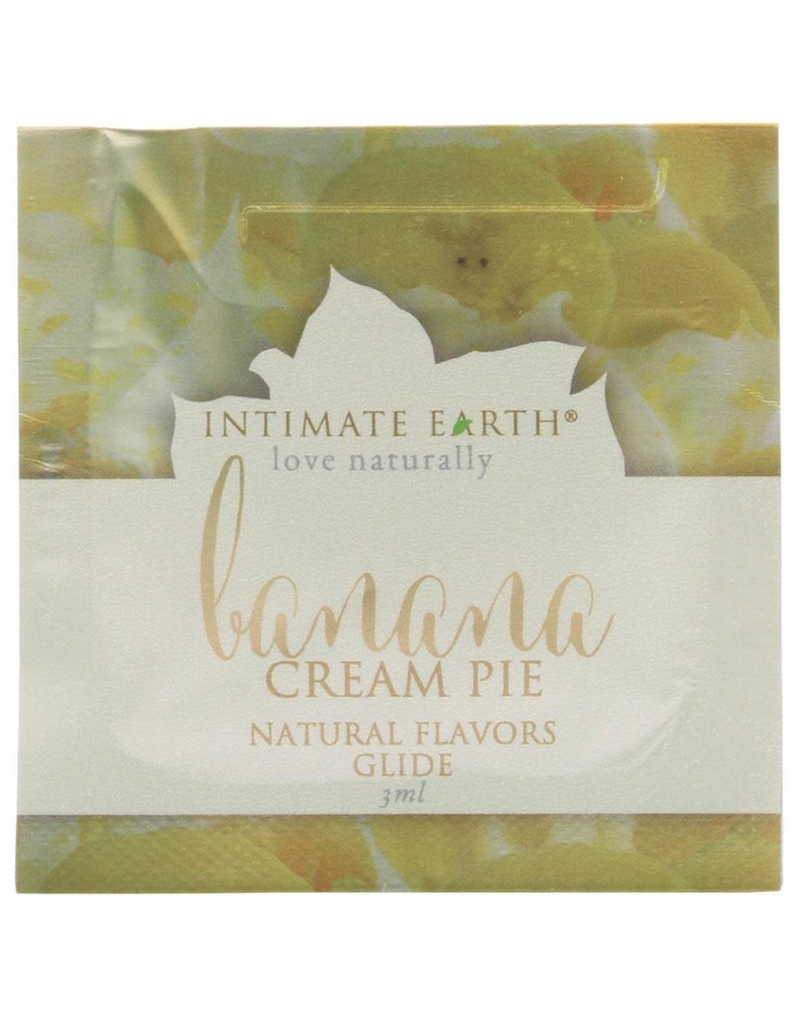 INTIMATE EARTH - ORAL PLEASURE GLIDE - BANANA CREAM PIE - 3 ml