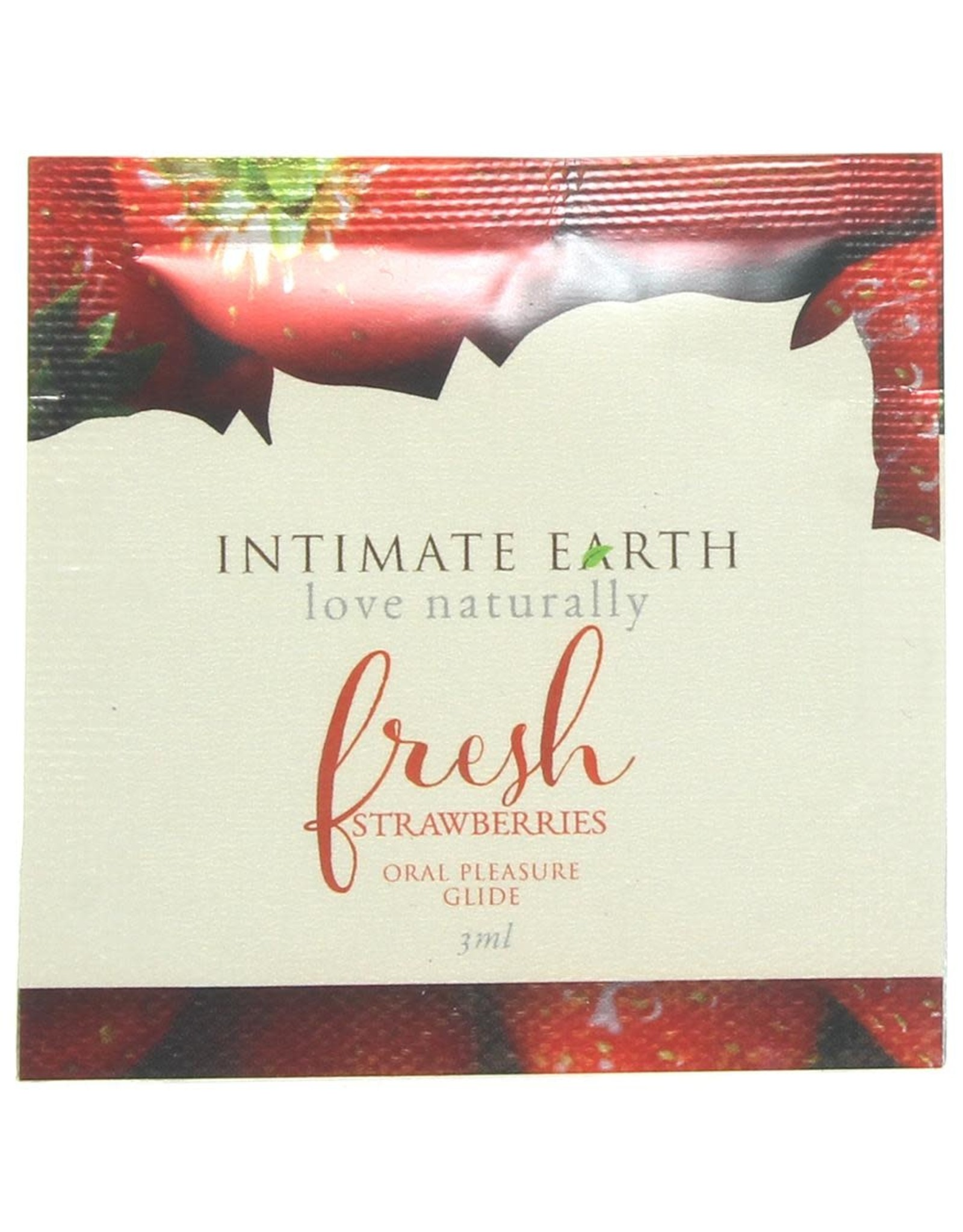 INTIMATE EARTH - ORAL PLEASURE GLIDE - FRESH STRAWBERRIES - 3 ml