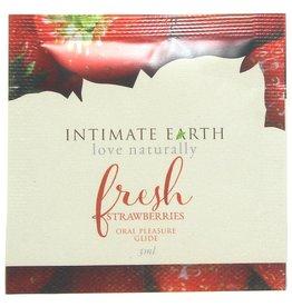 INTIMATE EARTH - ORAL PLEASURE GLIDE - FRESH STRAWBERRIES - 3 ml