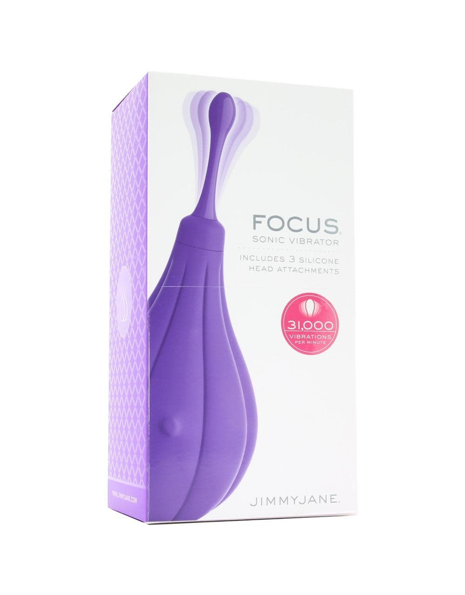 JIMMY JANE - FOCUS SONIC VIBRATOR - PURPLE