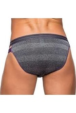 MALE POWER - HEATHER HAZE BIKINI - GREY - XL