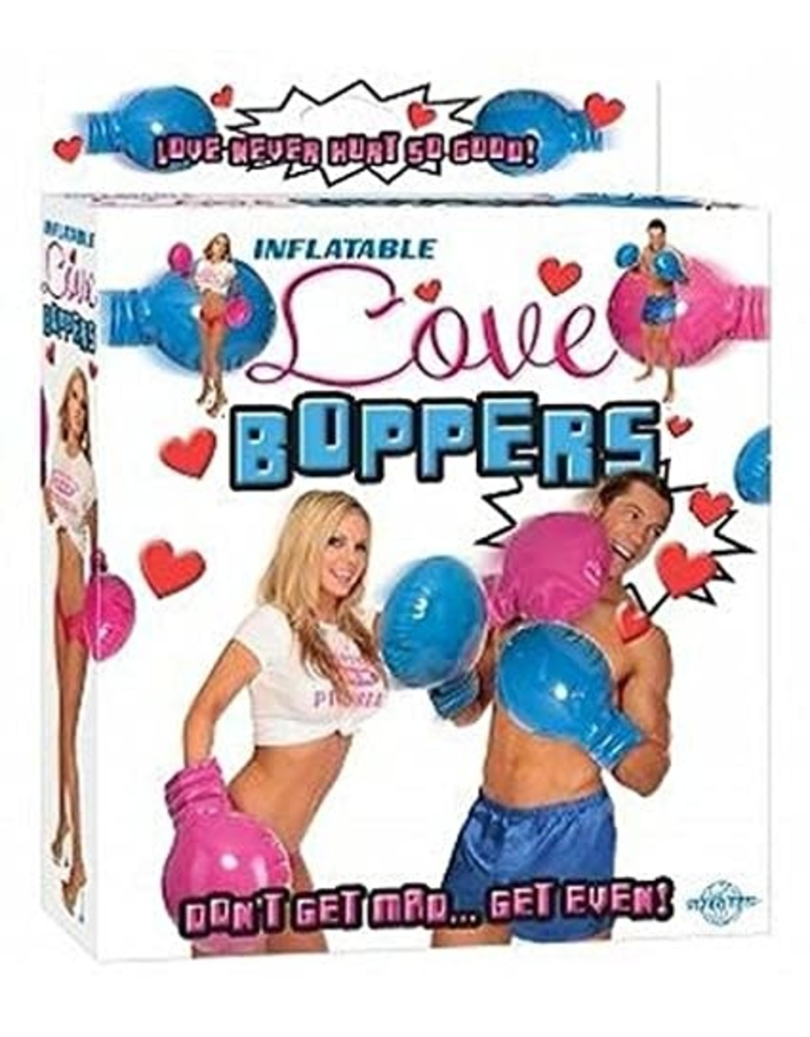LOVE BOPPERS - INFLATABLE BOXING GLOVES