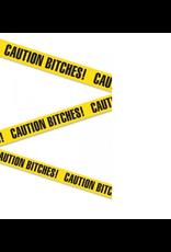 """BACHELORETTE - CAUTION TAPE """"CAUTION BITCHES"""" 20ft"""