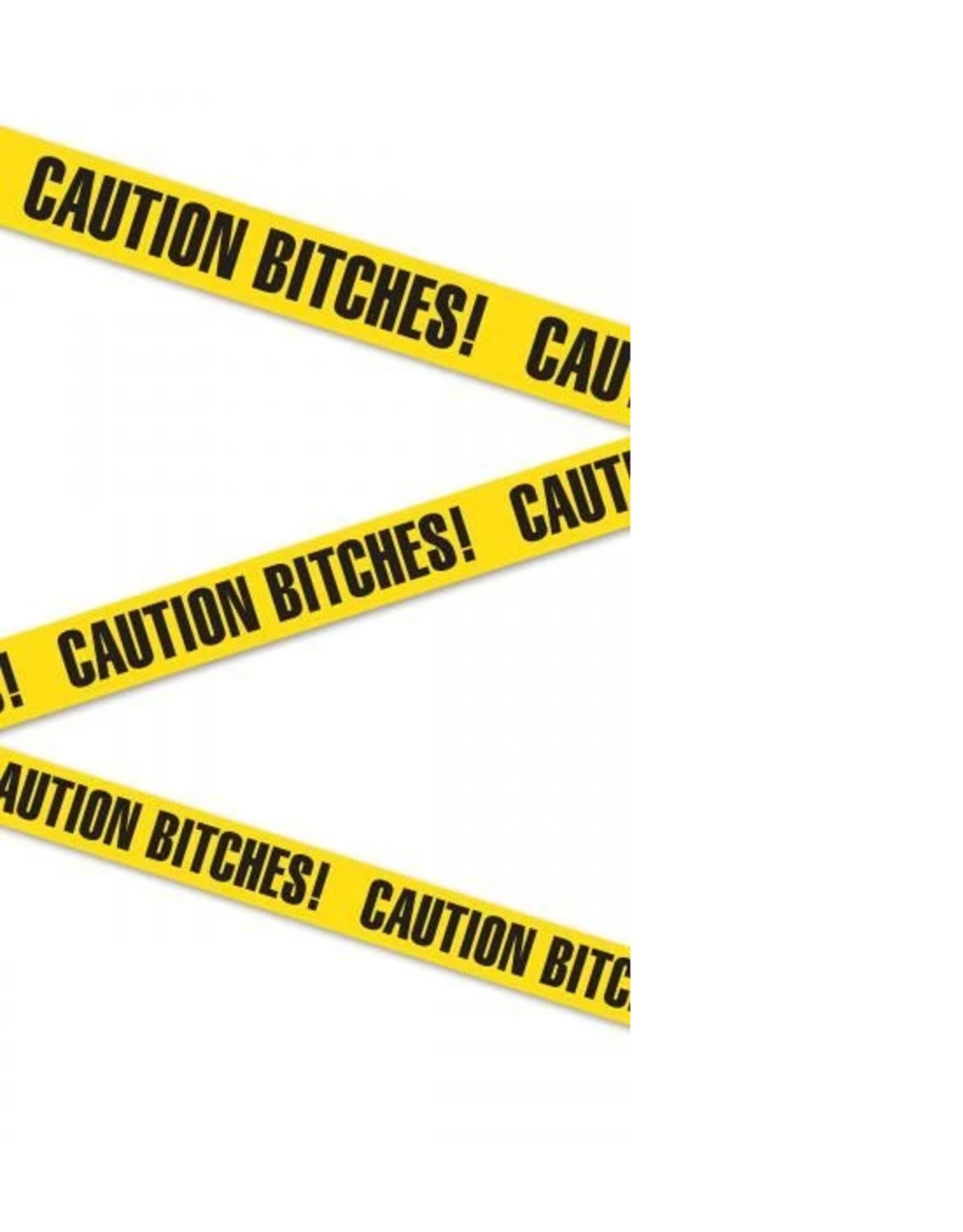 "PIPEDREAM BACHELORETTE - CAUTION TAPE ""CAUTION BITCHES"" 20ft"