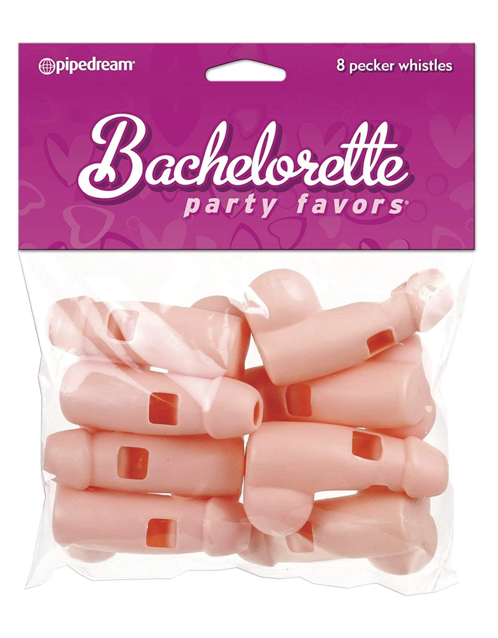 BACHELORETTE - PECKER WHISTLE - 8 PIECES