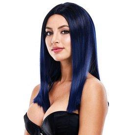 PLEASURE WIG - NICOLE - DARK BLUE