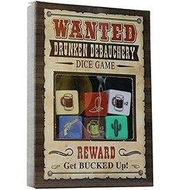 KHEPER GAMES WANTED - DRUNKEN DEBAUCHERY DICE