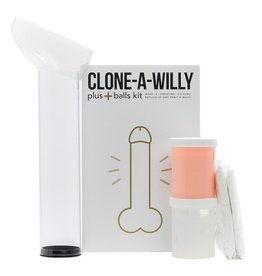 CLONE A WILLY (EMPIRE LABS) CLONE A WILLY +BALLS - LIGHT FLESH