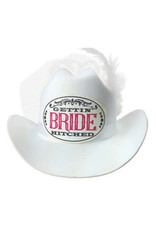 MINI COWBOY HAT - BRIDE
