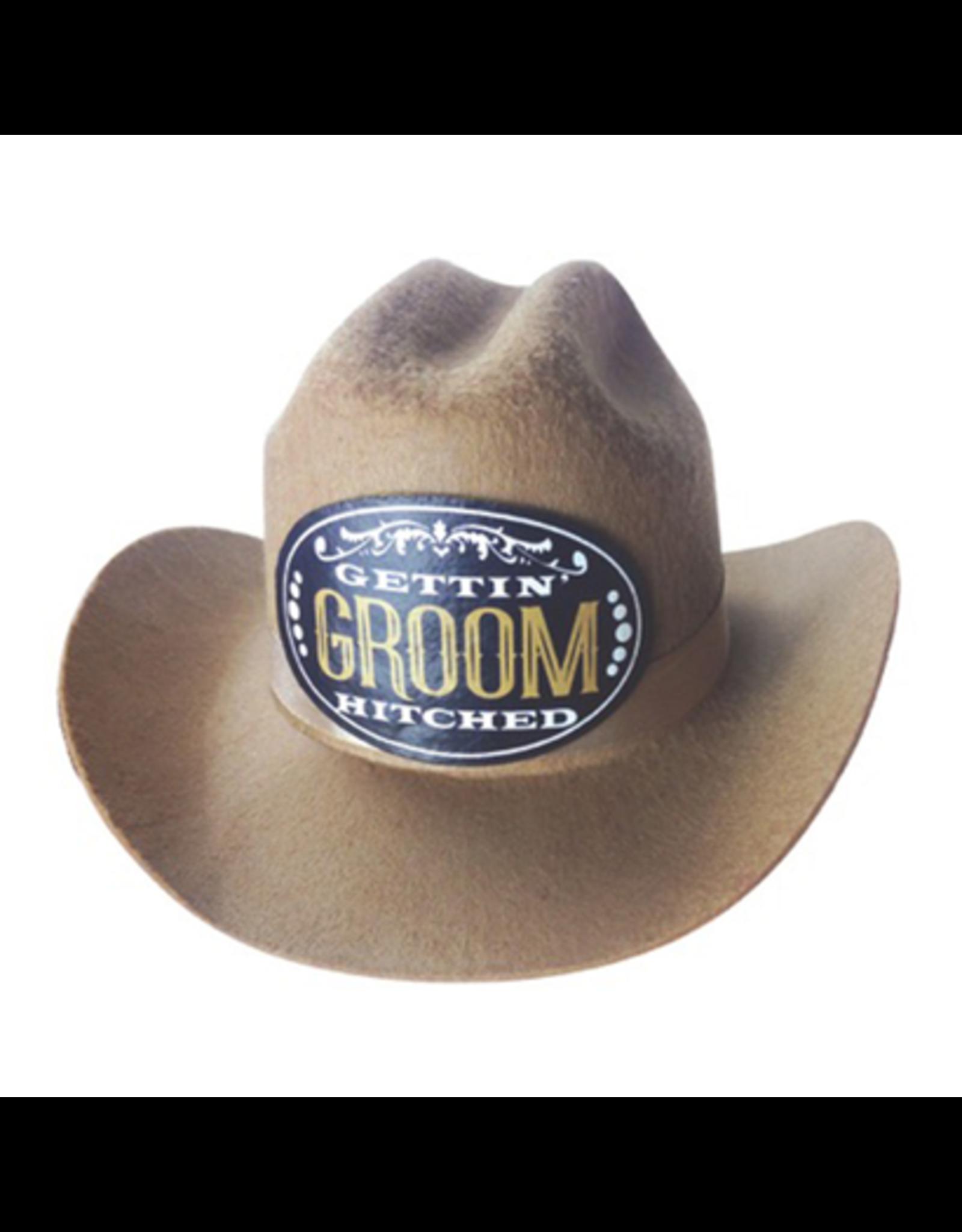 MINI COWBOY HAT - GROOM