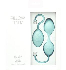 PILLOW TALK - FRISKY - TEAL