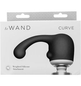 LE WAND LE WAND - CURVE SILICONE WEIGHTED ATTACHMENT - GREY