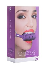 OUCH! - CYLINDER GAG - PURPLE