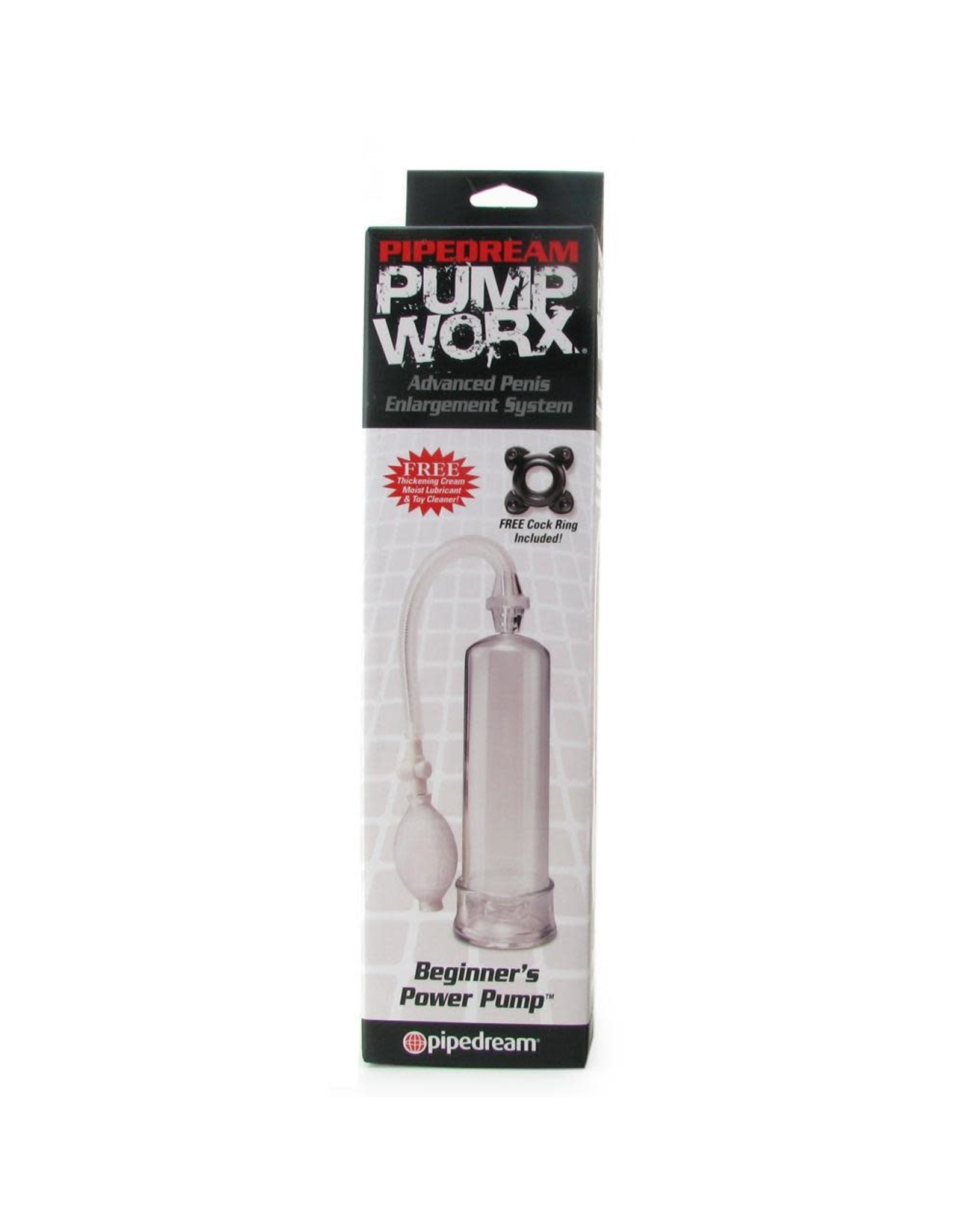 PUMP WORX - BEGINNER PUMP - CLEAR