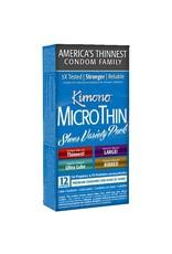 KIMONO - MICROTHIN SHEER VARIETY PACK x12